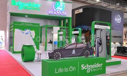 شنايدر إليكتريك لشواحن السيارات الكهربائية