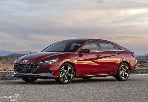 Hyundai Elantra CN7 2021