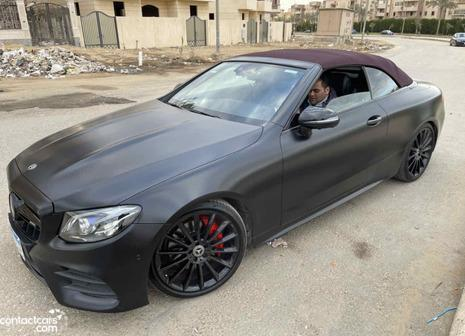 Mercedes E coupe 2018